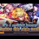 Super Ninja Spirit MMORPG android Gameplay fantasy anime based on Japanese legend MMOARPG