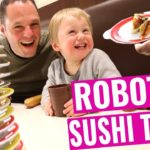 Sushi Train Tokyo   Our Baby Tries Japanese Food With Chopsticks! (CHEAPEST SUSHI IN TOKYO!))