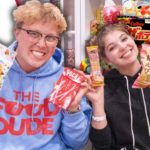 TRYING JAPANESE CANDY WITH LILY!!! | Food Dude Ep.57