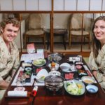 Traditional Japanese Food | Eating a Ryokan Multi-Course Kaiseki Dinner!