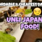 Unli Japanese  Food @ Hodai Restaurant| vlog#61