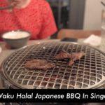 Waku Waku Halal Japanese BBQ In Singapore | Vlog Ep 19