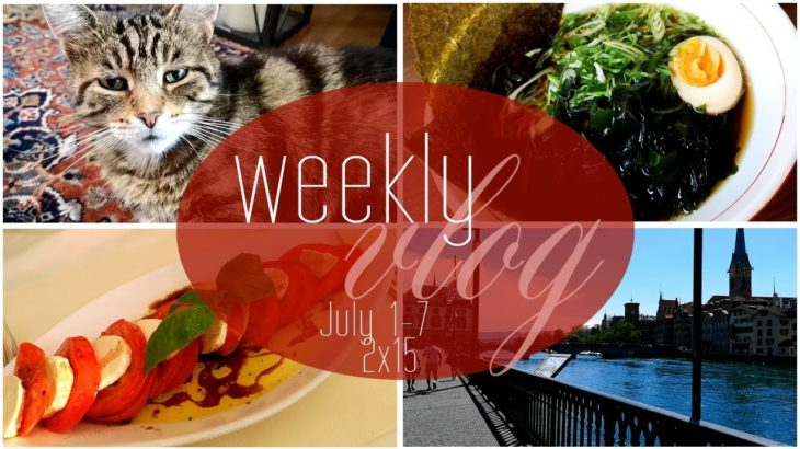 Weekly Reading Vlog S2E15 ¦ July 1-7 ¦ Japanese Food, Movies and more food