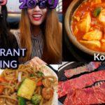 What We Eat when not Filming (Korean BBQ + Japanese Hibachi Buffet) | Kim&Liz Too