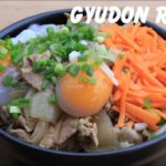 Yummy Japanese Food – How to Make Gyudon at Home Recipe cooking by countryside life TV.