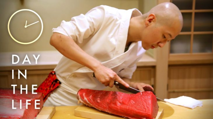 A Day In The Life Of A Sushi Master • Tasty
