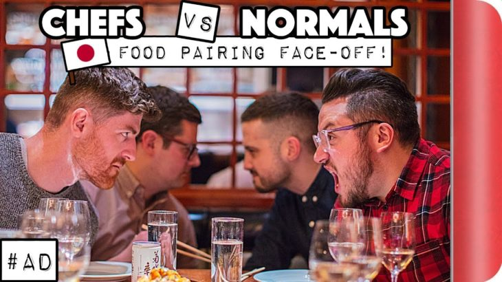 Chefs vs Normals Japanese Food Pairing FACE-OFF