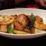 Delicious Japanese food – sooba tempura fried chicken