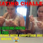 EATING NATTO CHALLENGE -FERMENTED SOYBEANS – A JAPANESE FOOD