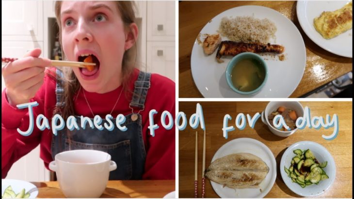 Eating Japanese food for a day