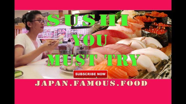 Famous Japanese Food SUSHI | Best Sushi