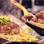Hamburger steak – Japanese Teppanyaki∥ハンバーグステーキ∥Japanese food in Tokyo