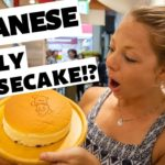 JAPANESE JIGGLY CHEESECAKE IN OSAKA