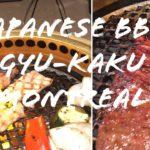 Japanese Barbecue | GYU-KAKU  MONTREAL