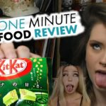 Japanese Candy Box sent by Crystals by Camille One Minute Food Review