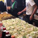 Japanese Festival food Okonomiyaki