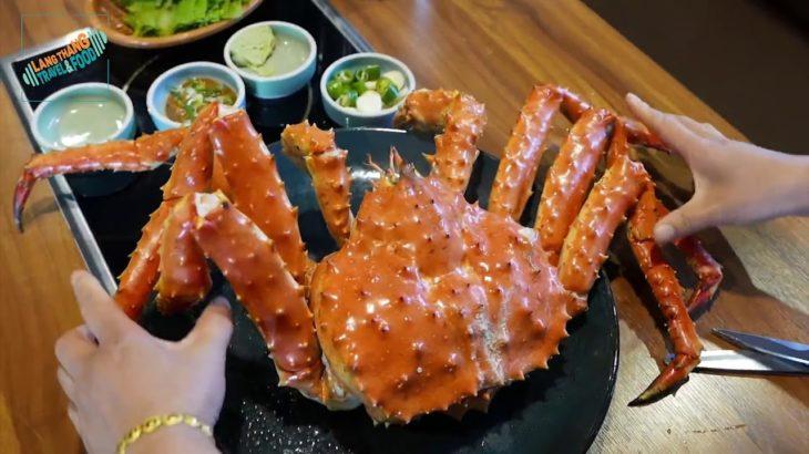[Japanese Food] Nhện biển KHỔNG LỒ – Cua Huỳnh Đế