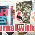 Japanese Food Stickers | Journaling an Art Event | Sweets stickers