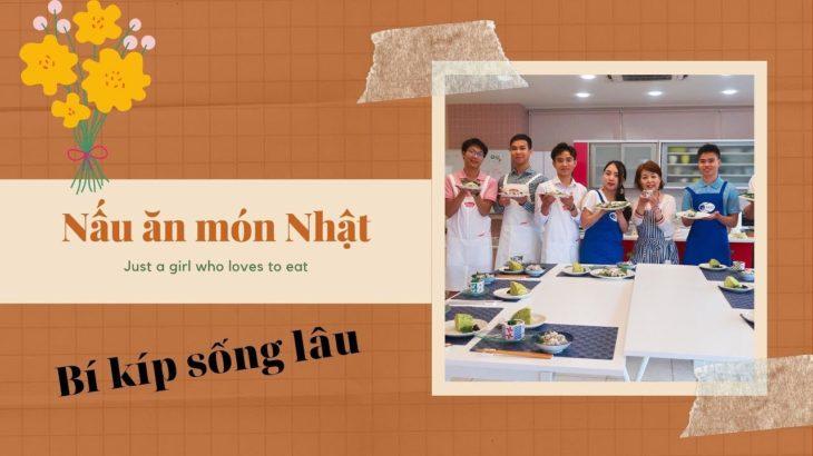 【Japanese Food】Nấu ăn cùng cô giáo người Nhật Bí kíp sống lâu &khỏe✅