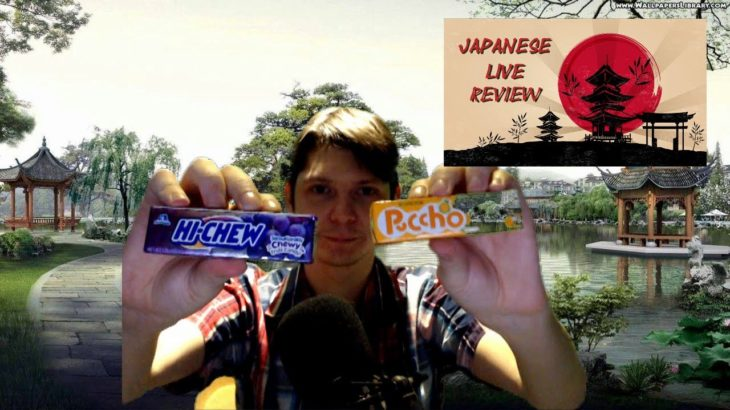 Japanese Live Review Episode 20 – Food Tasting #10 (Hi-Chews Vs Puccho)