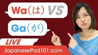 Japanese Particles は (wa) & が (ga) : What You Need to Know