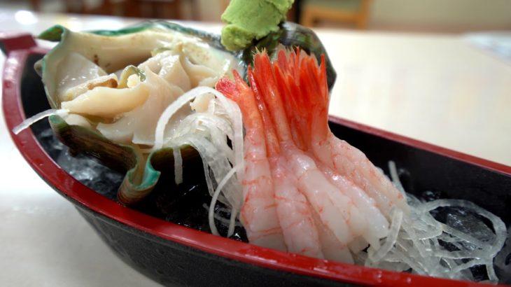 Japanese Street Food 🐚Sea Snail Shellfish Sashimi Okinawa Japan(2019) 夜光貝刺身 日本冲绳特产 Seafood Market