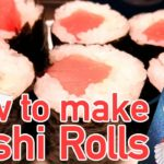 【Japanese food】How to make Sushi Rolls【巻きずし】