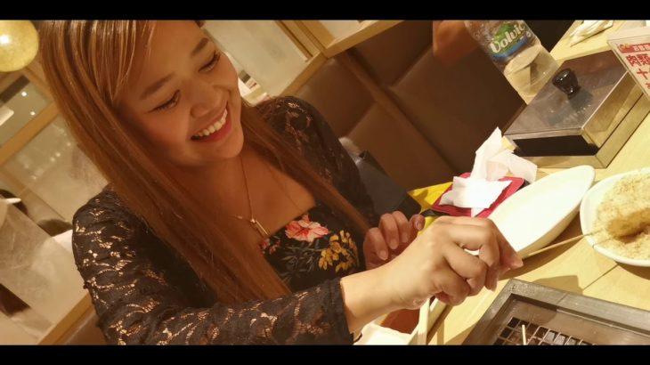 Japanese food,Kainan sa Japan with the birthday girl!
