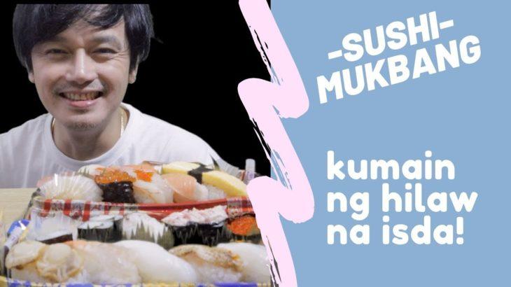 MUKBANG SUSHI  Sushi, FriedChicken,green tea JAPANESE FOOD