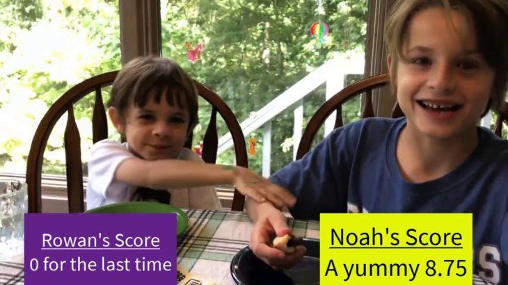 Noah and Rowan Japanese Food Part 2