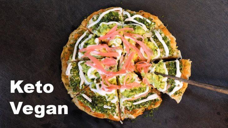 Okonomiyaki savoury pancakes | Keto vegan street food