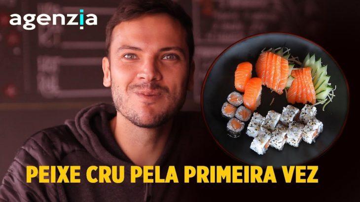 Provando pela primeira vez Comida Japonesa – Brazilian Japanese Food