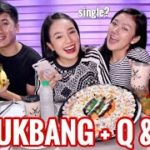 SUSHI MUKBANG + Q&A | JAPANESE FOOD, MILKTEA  (Philippines)