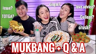 SUSHI MUKBANG + Q&A   JAPANESE FOOD, MILKTEA  (Philippines)