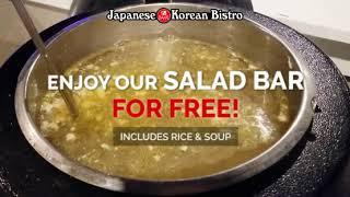 [Sake Japanese Korean Bistro] Enjoy Our Salad Bar for Free!