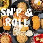 Snap N Roll! Japanese Food.