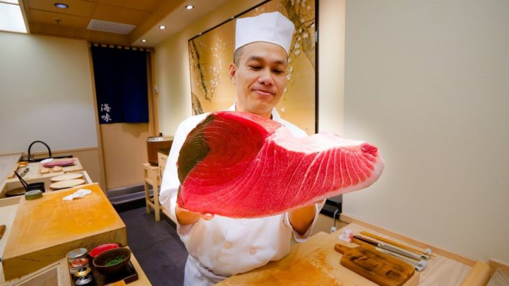 Sushi Omakase in Bangkok – TUNA BELLY Japanese Food at Umi Gaysorn in Thailand!