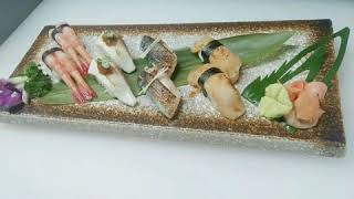 Sushi and roll Japanese food