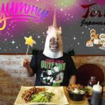 Unicorn Guy Eats Exotic Asian Food At Teri Teri Japanese Restaurant