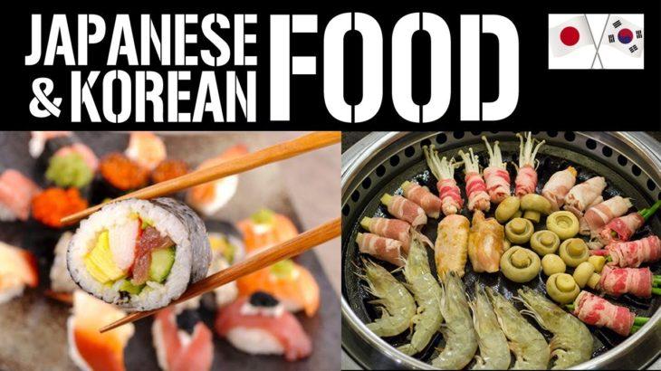 Very DELICIOUS JAPANESE and KOREAN FOOD – Ramen, Sushi, Tempura, Kimchi at SAMBOKOJIN SM South Mall