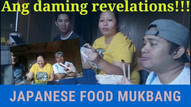 Vlog #16   Japanese food mukbang with revelations!!