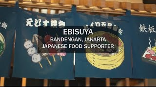 Where mural art meets Japanese food | EBISUYA