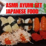 •07 ASMR JAPANESE FOOD | KANIMYAO INARI, UNAGI SALMON, TAMAGO NIGIRI, TOBIKO GUNKAN