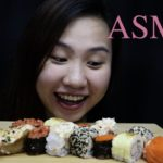 ASMR JAPANESE FOOD – SUSHI (No Talking) _SUPER TENG_