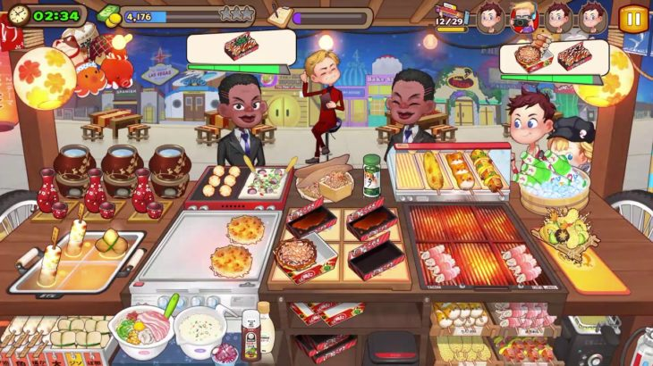 Cooking Adventure – Japanese Food Truck Master Level 3 – Full Upgrade