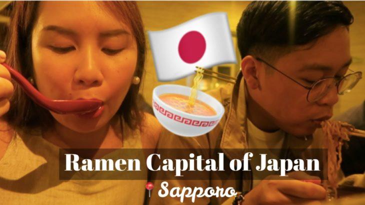 Food trip, shopping & learning basic Japanese in Sapporo! | Ysabel Vitangcol