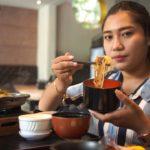 ញ៉ាំម្ហូបជប៉ុនសម្រាប់អាហារពេលថ្ងៃ – Having Japanese Food For Lunch | Let's Get Fat