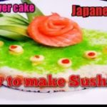 How To Make California Sushi Cake / Japanese Food.