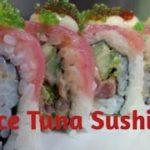 How To Make Spice Tuna Roll #Uramaki | Japanese food