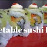 How To Make Vegetable And Fruit Sushi Roll | Japanese Food . Lover .